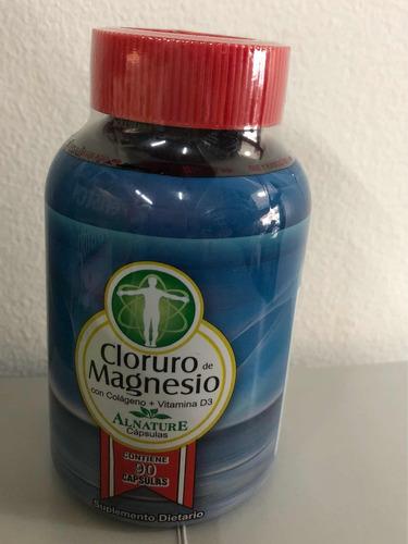cloruro de magnesio con colageno y vitamina d3 2x $50.000