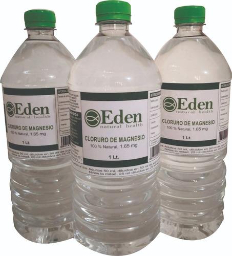 cloruro de magnesio orgánico 3.3% caja 20 lt  envío gratis