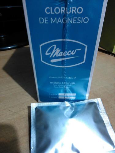 cloruro de magnesio  original envasado!!!