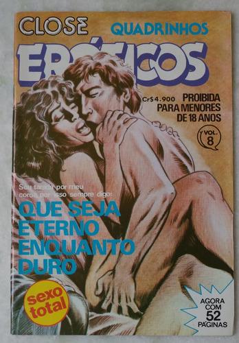 close quadrinhos eróticos nº 8 editora maciota