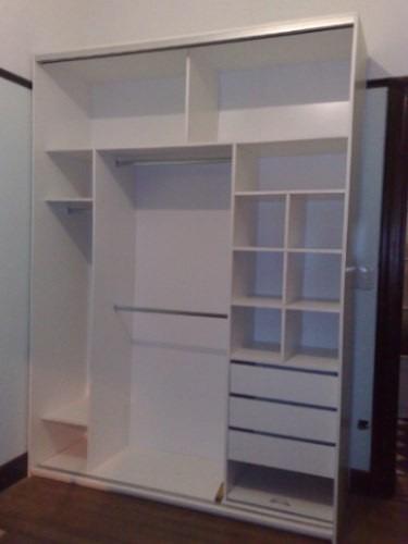 Closet 240 x 180 x 50 en mercado libre for Closet en melamina modernos