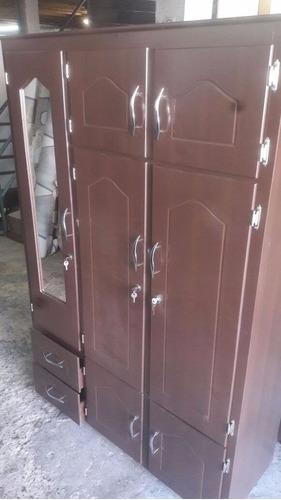 closet 3 cuerpos con espejo, envio gratis medellin