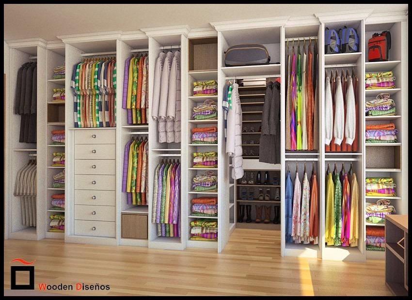 Closet a medida en mercado libre for Muebles walking closet