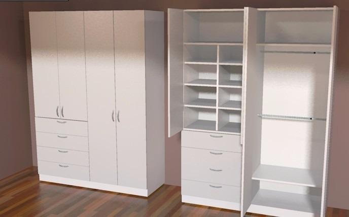 Closet a medida en mercado libre for Medidas closets modernos