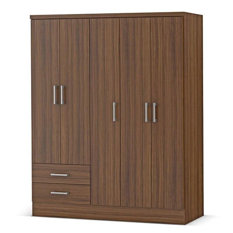 closet armario 5 puertas 150x47x182 cm an s en