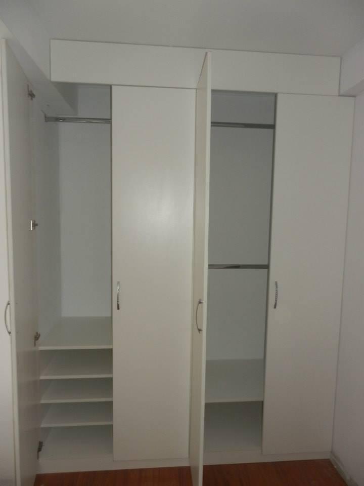 Closet cocinas empotrados de melamina s 840 00 en for Roperos para dormitorios en melamina