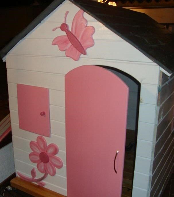 Closet con pizarra tipo casita madera armario escaparate for Zapateras para ninas