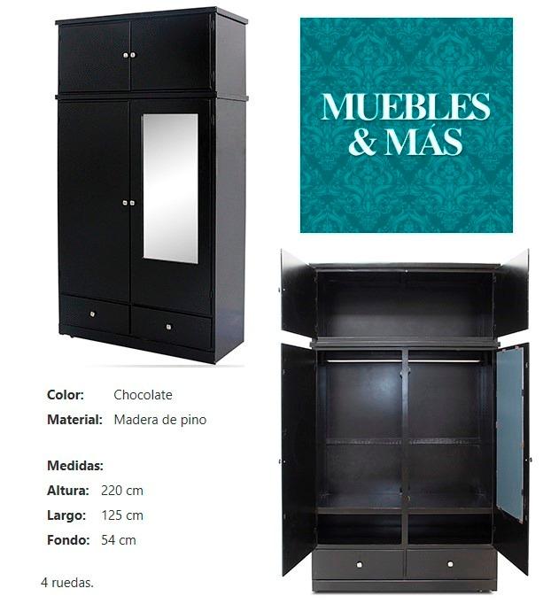 Closet de madera entrega inmediata 4 en for Cuanto cuesta un closet de madera en mexico