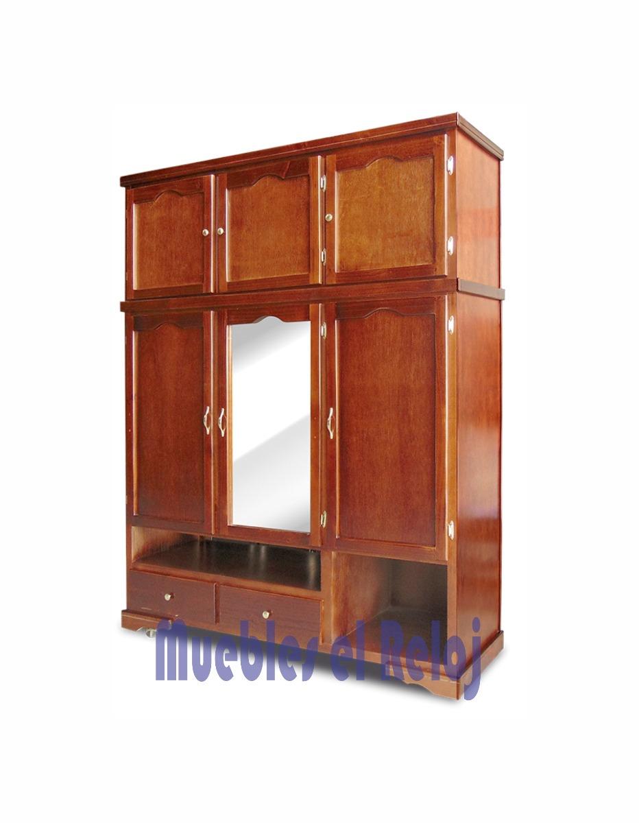 Closet de madera y caobilla modelo sonora solo monterrey for Closet de madera monterrey