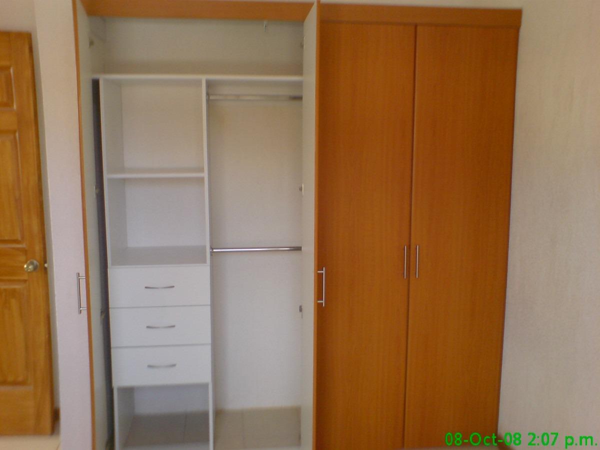 Closet de melamina 7 en mercado libre for Disenos de closets sencillos