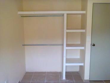 Closet Empotrados En Concreto Y Madera Bs 0 05 En