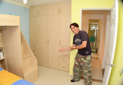 closet empotreados modernos instalados