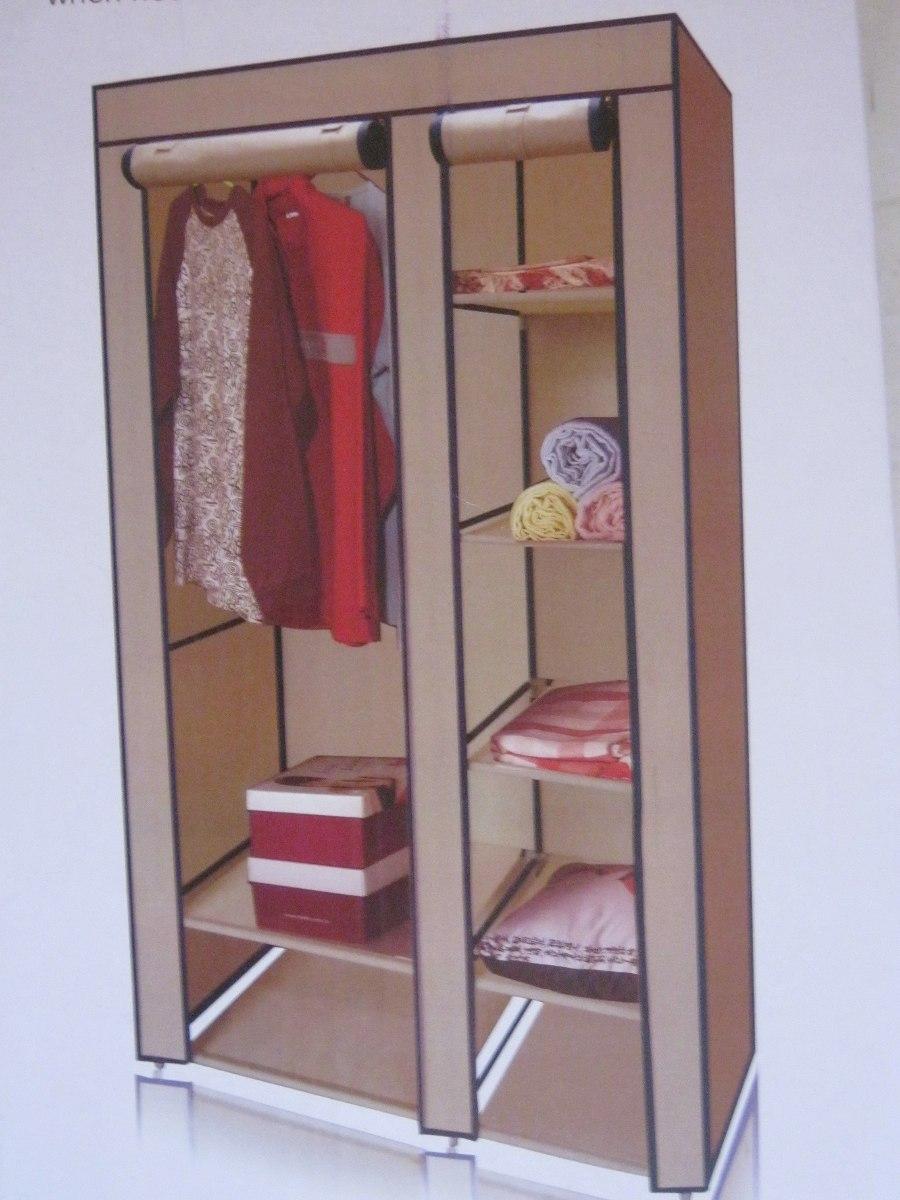 Cl set guardarropa armable de tela con base met lica for Closets estado de mexico