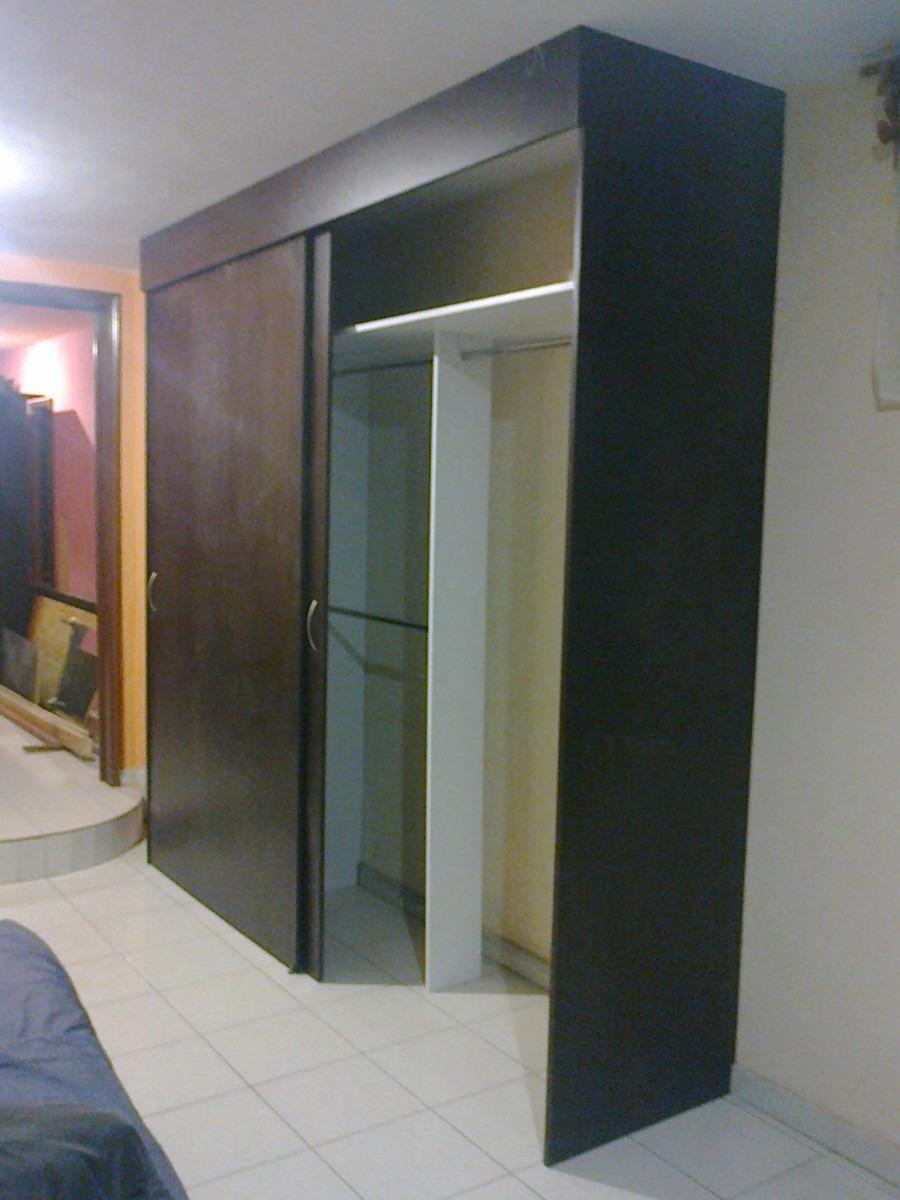Closet melamina c puertas corredizas 5 500 pachuca - Correderas para puertas corredizas ...