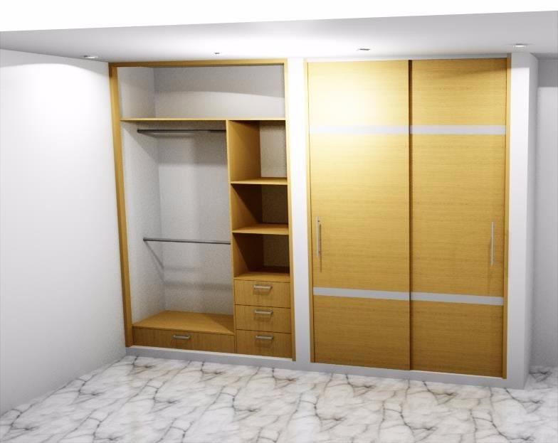 Closet modernos cocinas integrales en mercado for Disenos de closets sencillos