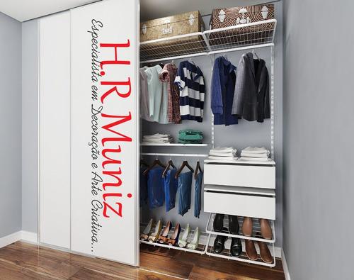 closet modular para seu quarto.