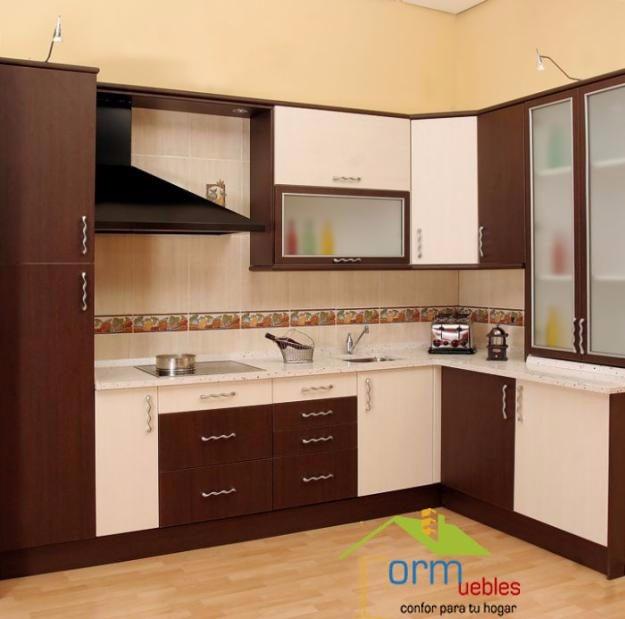 Closet muebles de cocina puertas pasamano el for Muebles de cocina 2 metros
