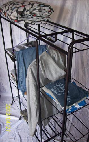 closet perchero doble torre