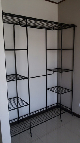 closet perchero doble torre y doble percha
