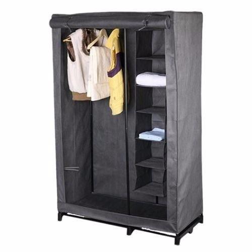 Closet portatil con entrepa os organiza ropa y zapatos for Closets estado de mexico
