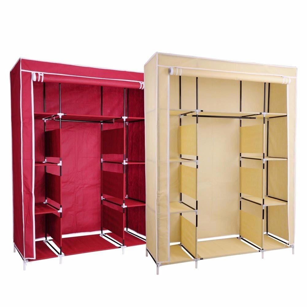 Closet port til organizador de ropa beige o rojo 960 for Closet armables economicos
