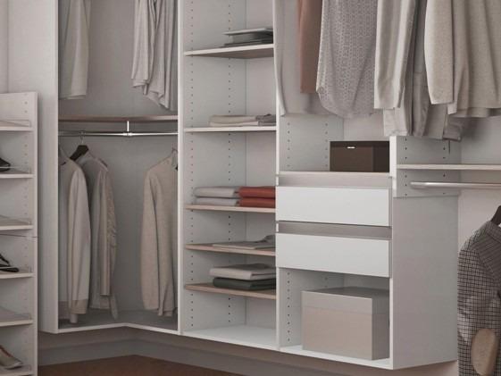 Charmant Closet Prateleira/cabides/gavetas Kt1206   Super Closets