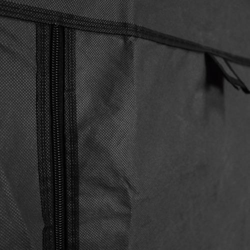 closet ropero armable transportable negro 175x130x45 r3007