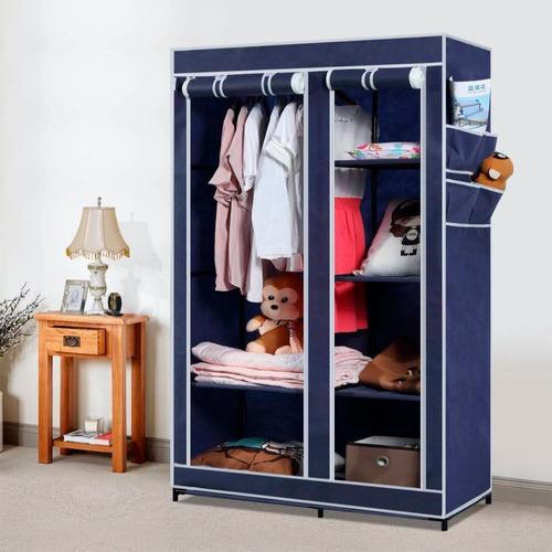 closet ropero armable transportable tela arma facil ml2674