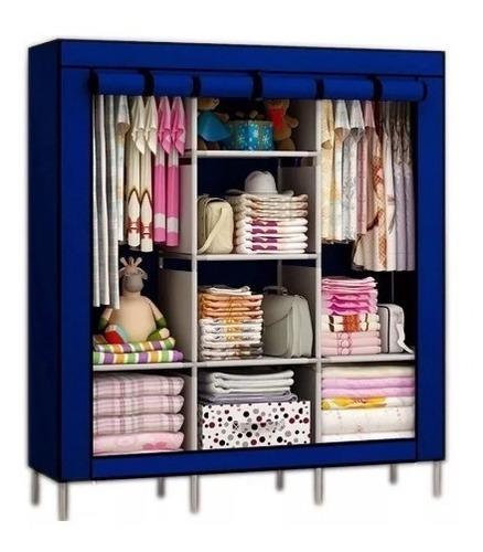 closet ropero armable transportable tela / factorynet
