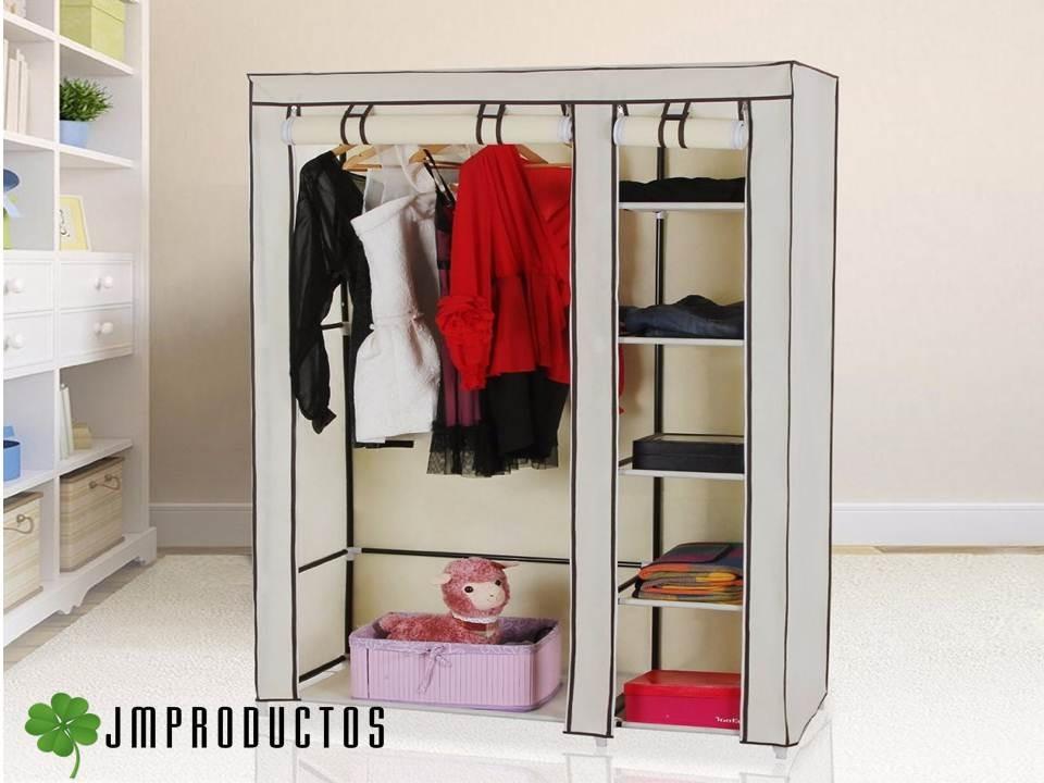 Closet ropero organizador para ropa armable colgador - Organizador armario ...