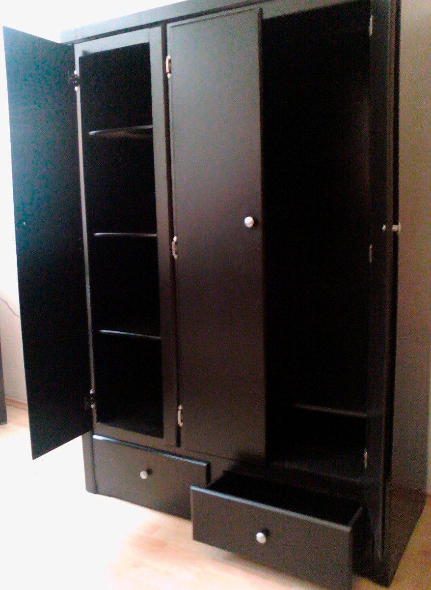 Closet ropero zapatera minimalista chocolate rm4 2 590 for Disenos de zapateras para closet