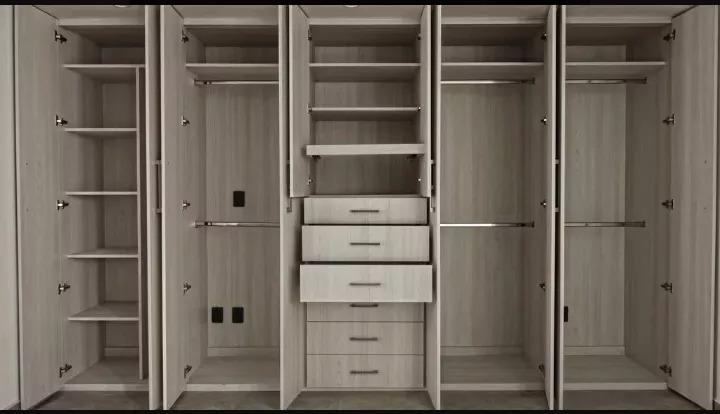 Closet Roperos Walk In Closet De Melamina A Medida
