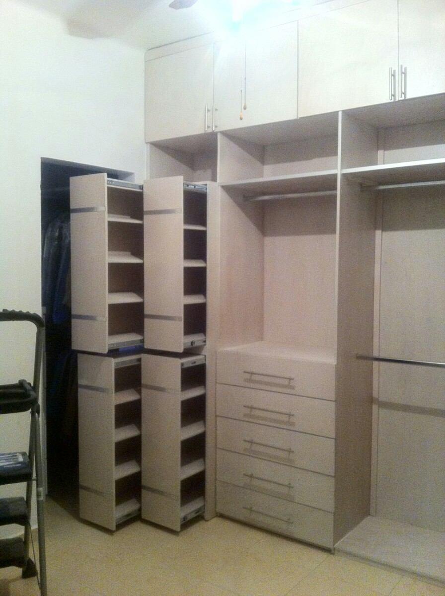 closet sobre medida hasta de largo x alt