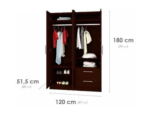 closet tipo casa lista