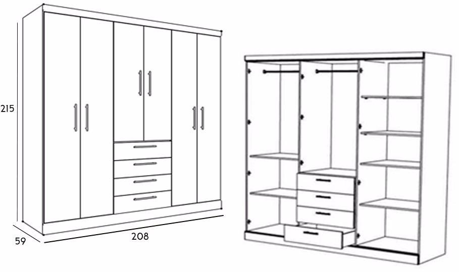 Closet vestier se elaboran a medida bs en for Medidas de zapateras