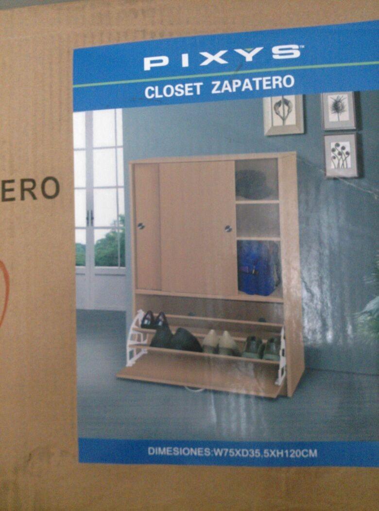 Closet Zapatero Pixys Bs 10 500 00 En Mercado Libre # Muebles Tiendas Pixys