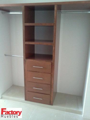 Closets muebles de madera 3 en mercado libre for Muebles de algarrobo mercadolibre