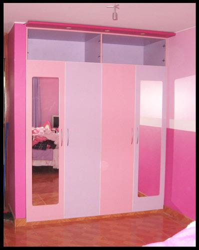 closets, walking closets en melamina