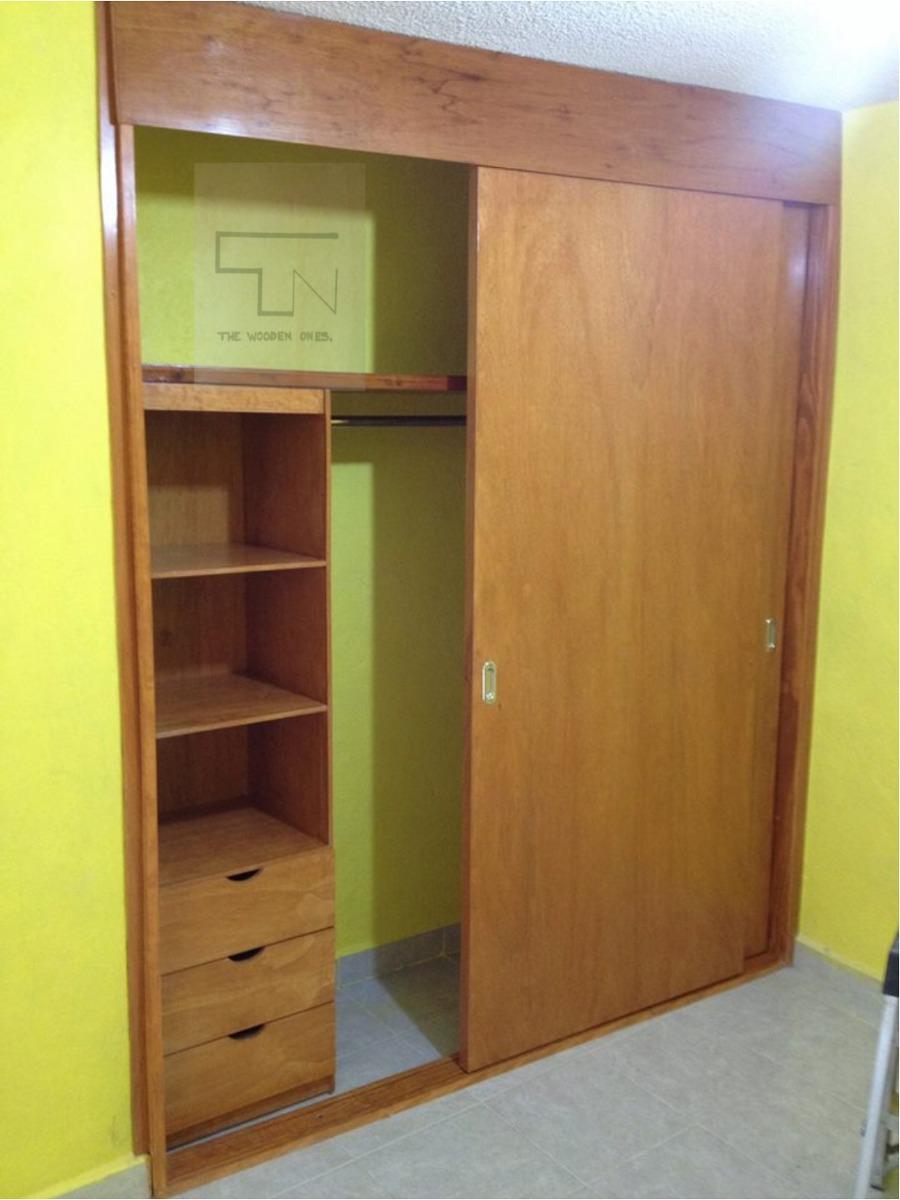 closets y puertas de madera 1 en mercado libre On puertas para closet de madera