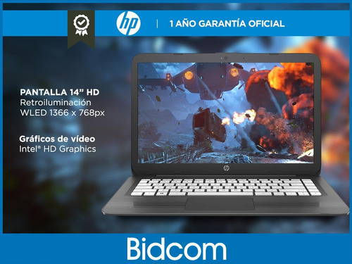 cloudbook net hp celeron windows 10 4gb ssd 32gb 14 bidcom