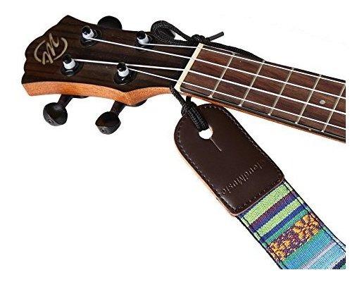 cloudmusic algod/ón hawaiano ukelele correa azul