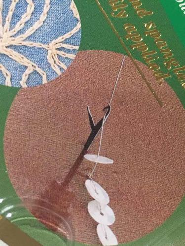 clover kantan gancho  para bordar chaquiras