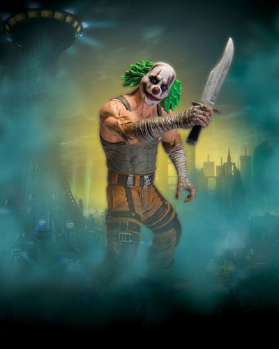 clown thug batman arkham city asylum joker guason payaso