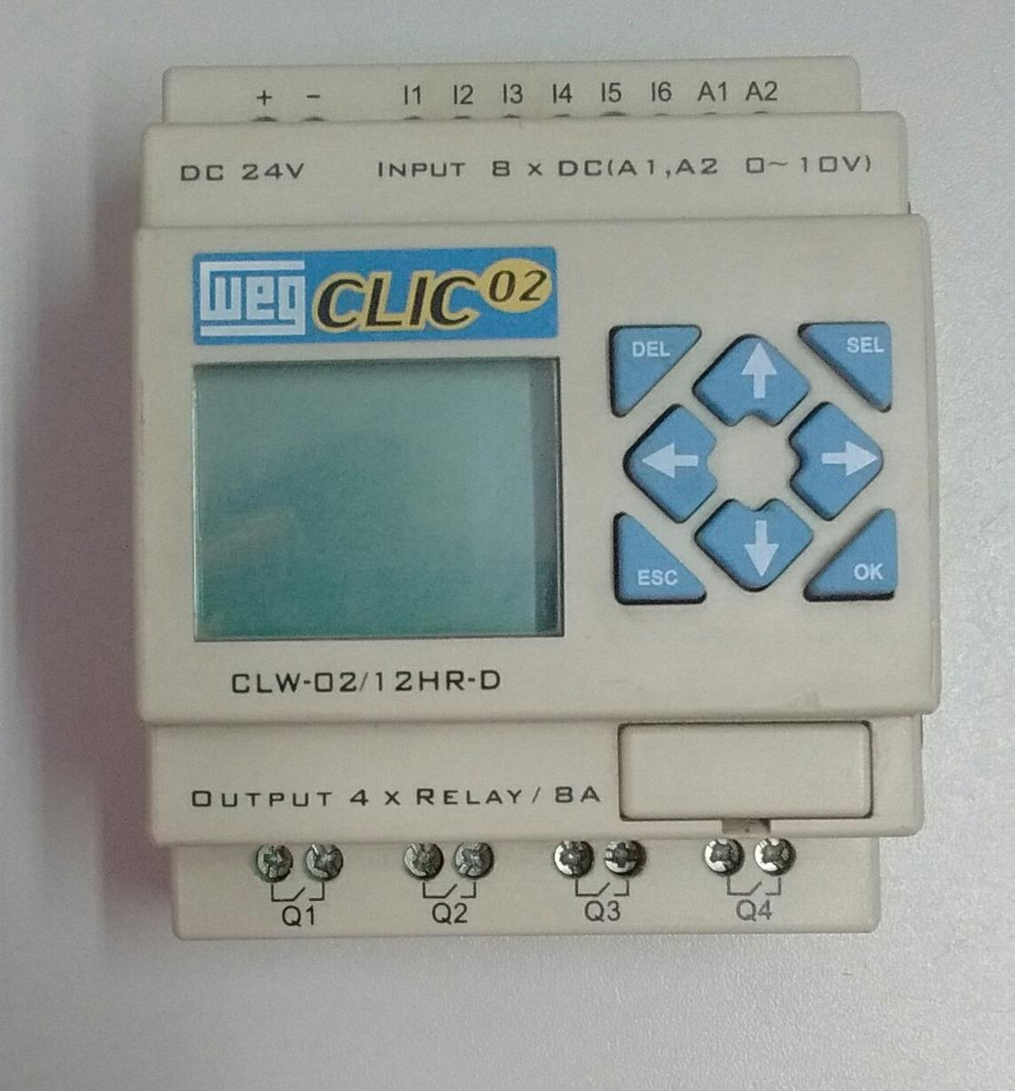 b1e5e02281e clp clic02 weg clw-02 12hr-d. Carregando zoom.