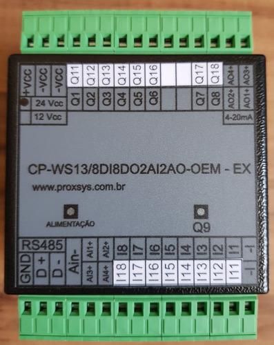 clp-cp-ws13-ex/16di16do4ai4ao - usb -24vcc-rs485 modbusrtu