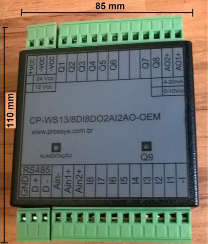 clp - cp-ws13/8di8do2ai2ao oem - usb e rs485 modbus rtu