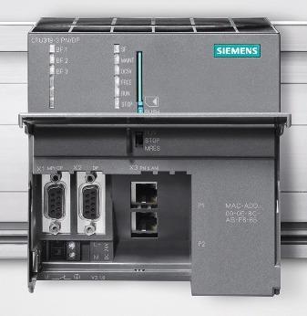 clp siemens simatic s7 319-3 dp/np produto novo