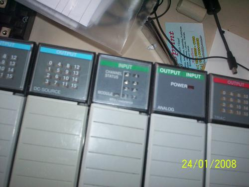 clp slc500 allen bradley cpu 1747- l552,+dig e analog