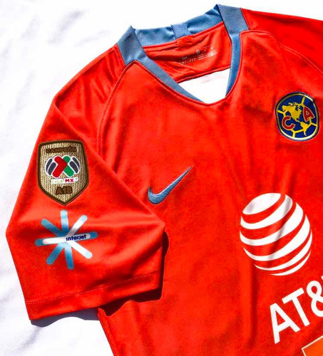 Jersey Club America Alternativo Con Parche Campeon 2018-2019 ... f5f79c916d9ee