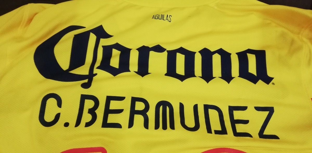 c3001b6a6 Cargando zoom... 2 jersey club america 2013 campeon talla m c. bermudez  18